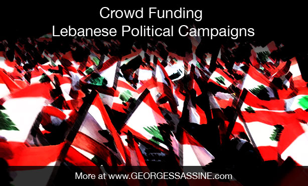 Crowd funding lebanese political campaigns